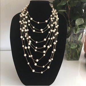 Jewelry - Layered Pearl Necklace